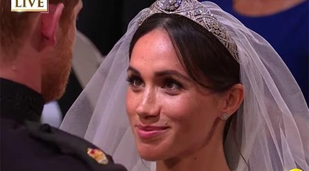 Royal Wedding Report: All Eyes Were on Meghan Markle's Diamond Bandeau Tiara