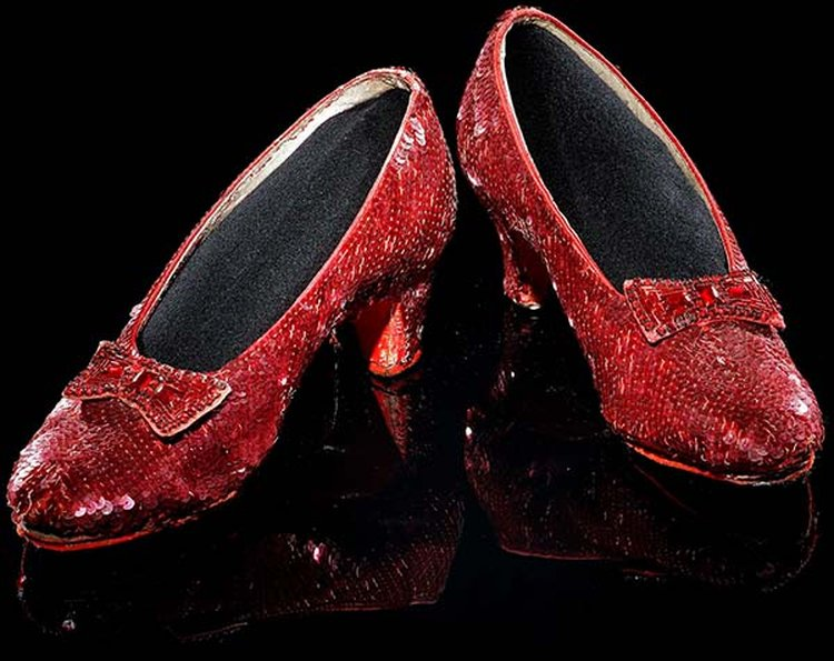 95ccaf740ff Dorothy s Ruby Slippers Return to the Smithsonian After 18-Month Hiatus and  Rejuvenating Facelift