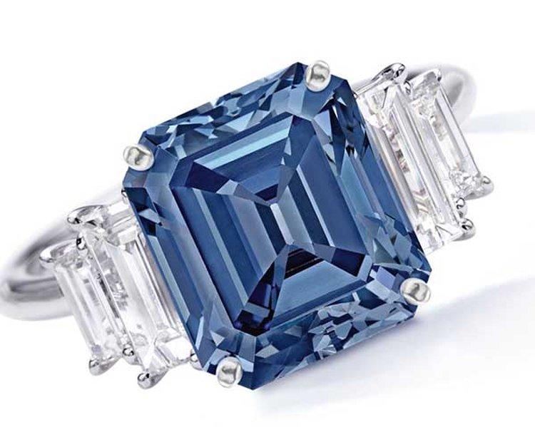 029ede545 5-Carat Fancy Vivid Blue 'Ai' (Love) Diamond Could Fetch $15